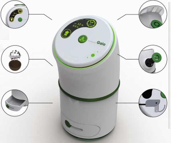 Gaia Domestic Composting Machine To Recycle Food Waste