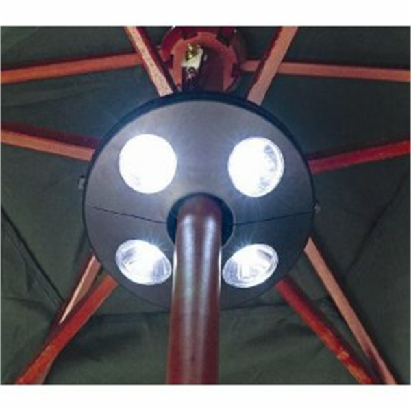 Gardman Rechargeable Garden Parasol LED Light