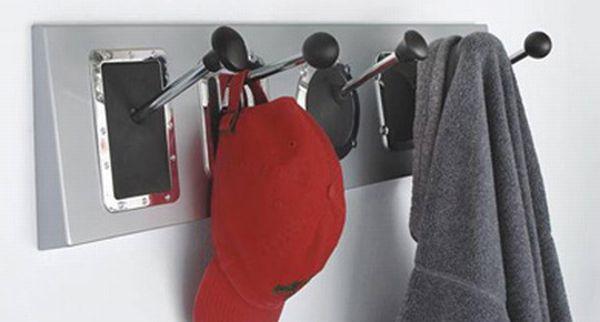 Gear-shift coat rack