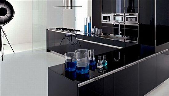 ged cuisine argento vivo kitchens black