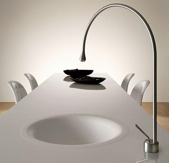 gessi goccia dining table concept1