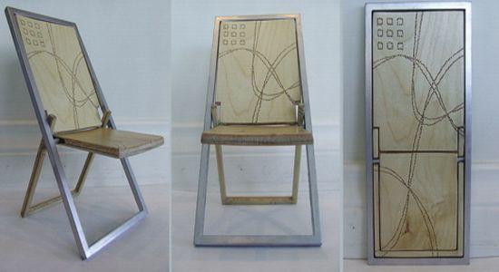 Elegant How To Hang Folding Chairs On Wall Gheza Flat Folding Chair Artwork On My  Wall Hometone