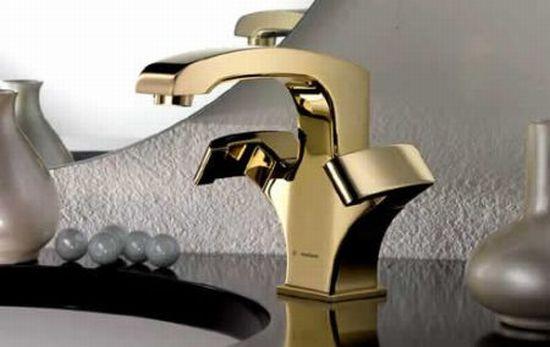 gold faucets newform