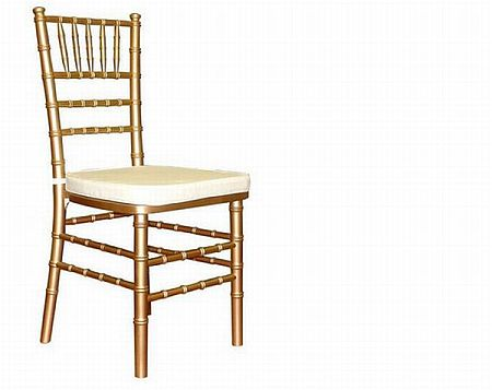 Gold Chiavari Style Ballroom Chair
