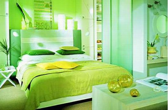 green themed house1