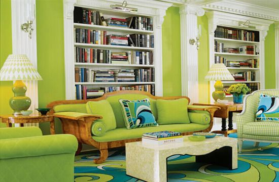 green themed house5