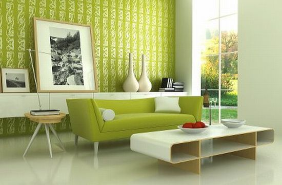 green themed house6
