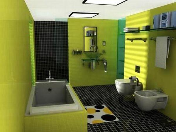 Green clean batroom