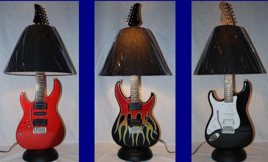 guitar lamp 1