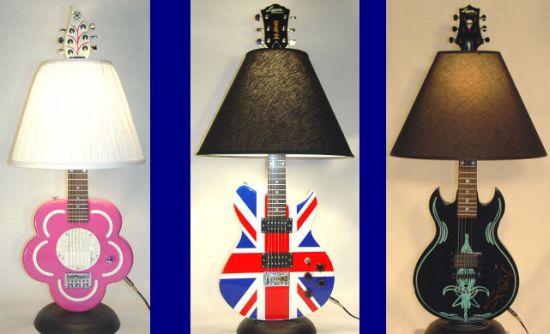 guitar lamp 4