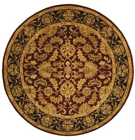 hand tufted heritage kashan wool rug