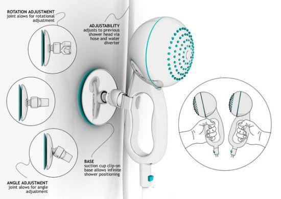handheld shower unit1