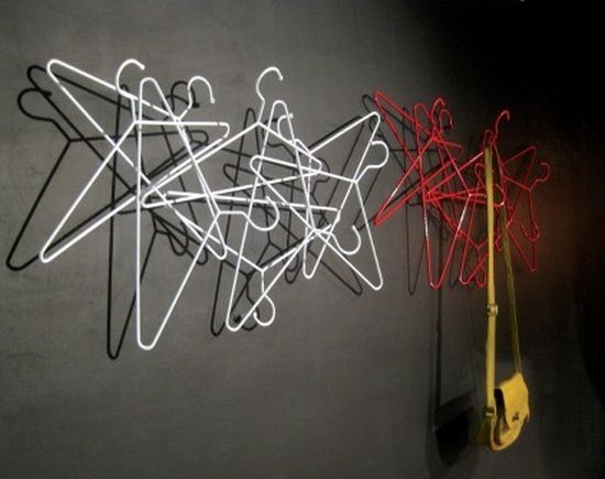 hangers wall coat rack