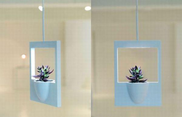 Hanging Polaroid Flower Vase