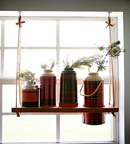unique hanging shelves hometone