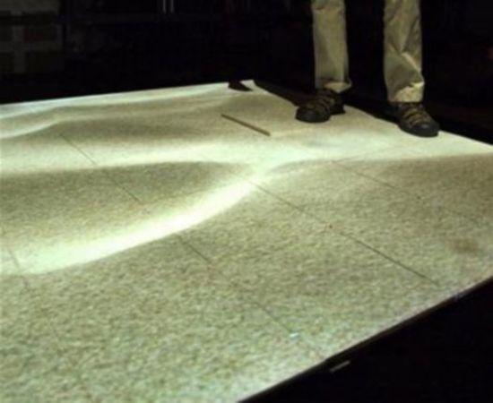 haptic floor tiles