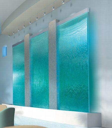 harmonic environments indoor waterfall