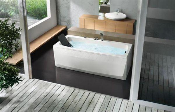 head rest stylish contemporary bathtubs