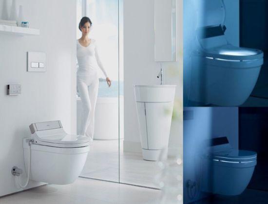 Sensowash heated n illuminated toilet cum bidet hometone - Bidet heated toilet seat ...