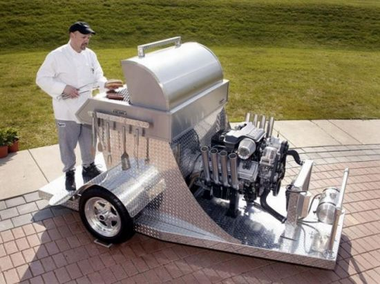 hemi powered grill