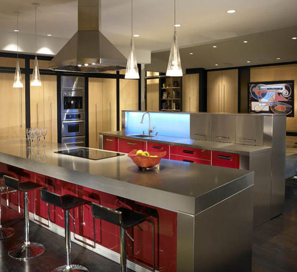 Captivating kitchens for a heightened culinary experience