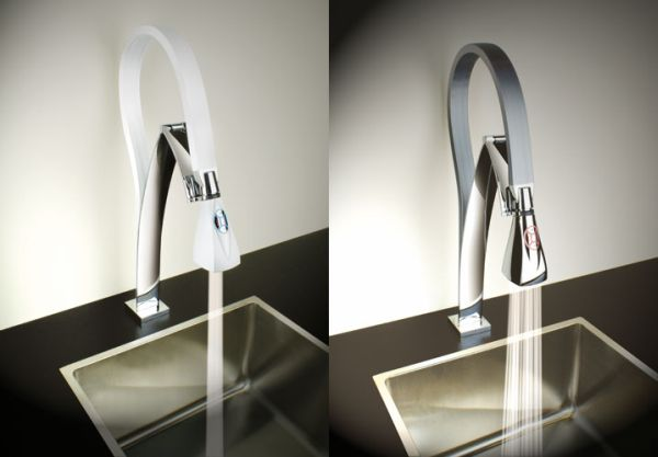 hi tech kitchen faucets for trendy homes hometone