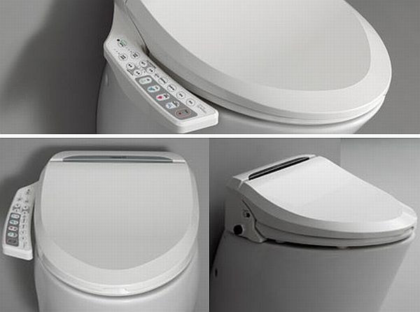 Hi-Tech Toilet