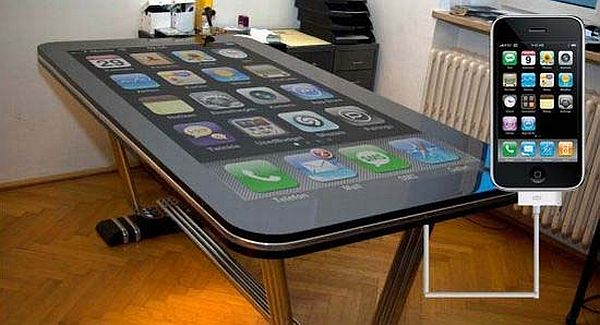 High-Tech Table