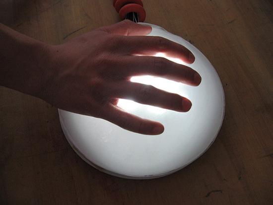 hit me lamp
