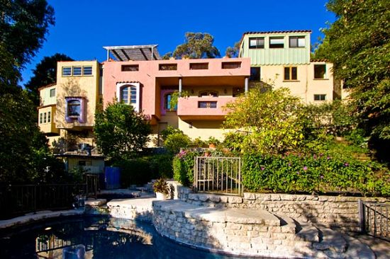 hollywood hill home