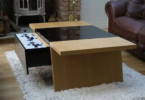 Tv In Coffee Table Gallery Design Ideas