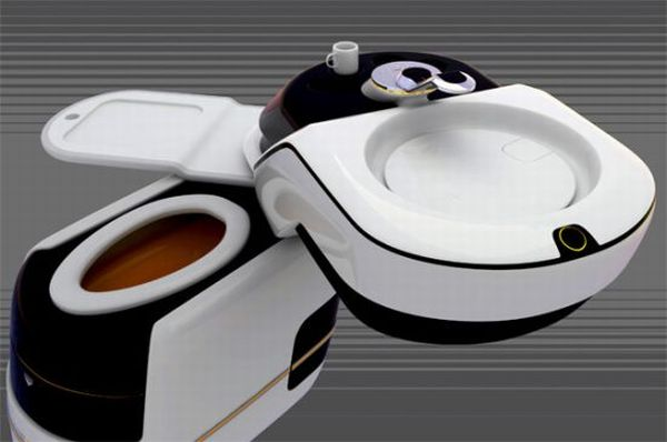 Home Core all-in-one toilet concept