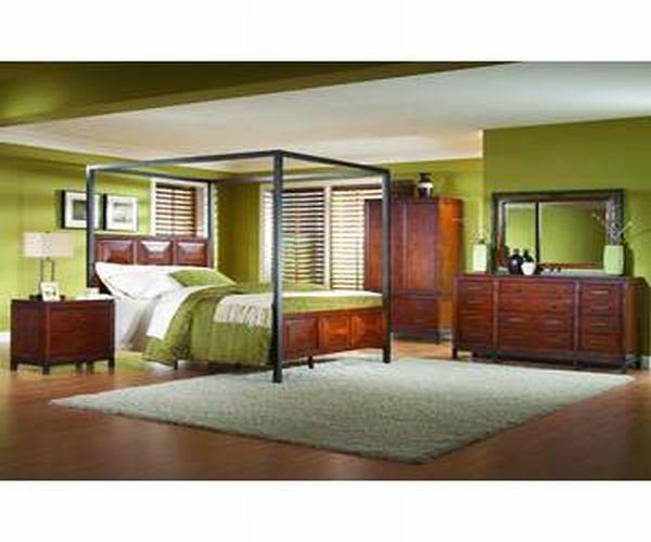 Homelegance Queen Canopy Bed