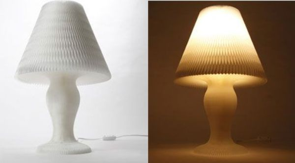 Honey comb lamp