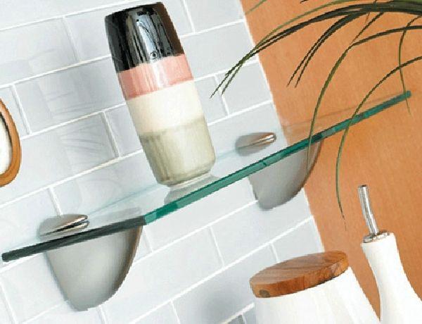 How to make glass shelves