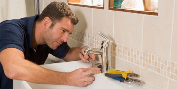 How to repair bathroom sink