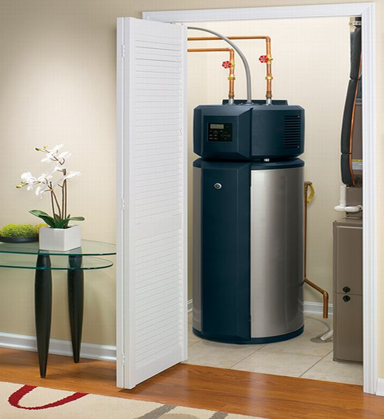 hybrid water heater ge installed