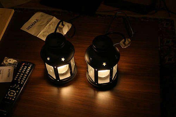 Ikea hanging lantern