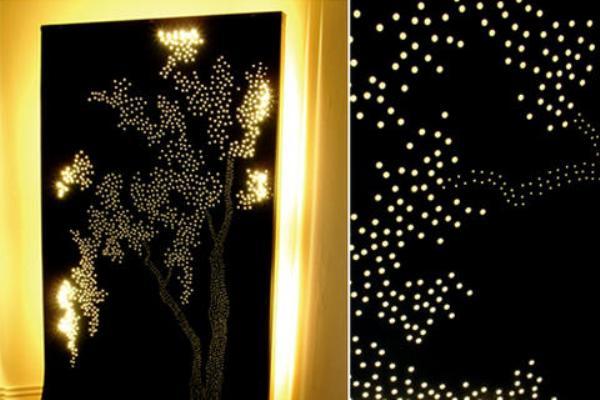 Illuminate room divider