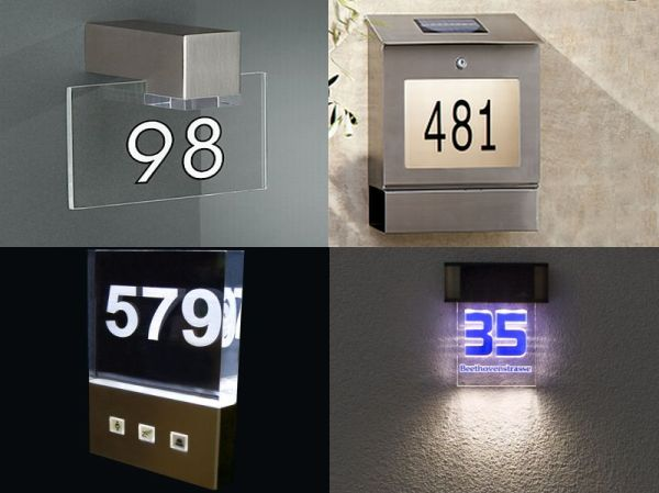 Illuminated Door Numbers
