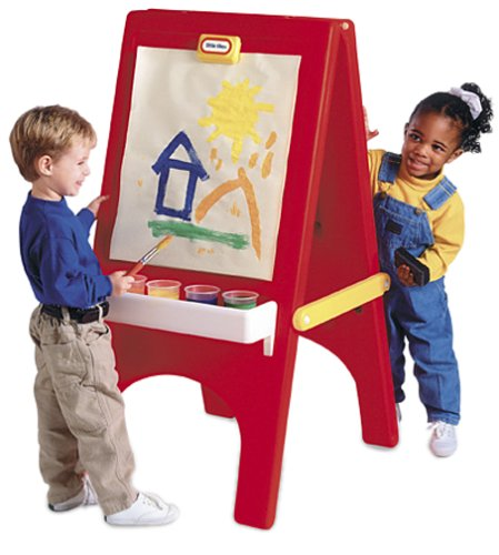 Easels for kids hometone home automation and smart - Caballete para pintar ...