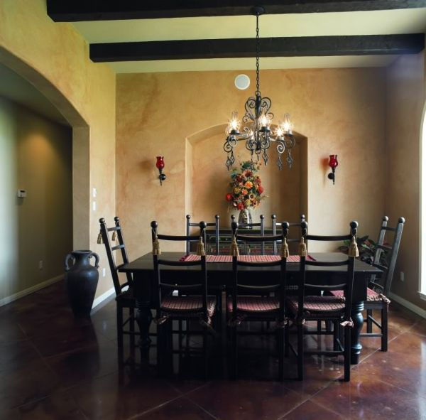 Dining Room Spanish Photo Decorating Inspiration
