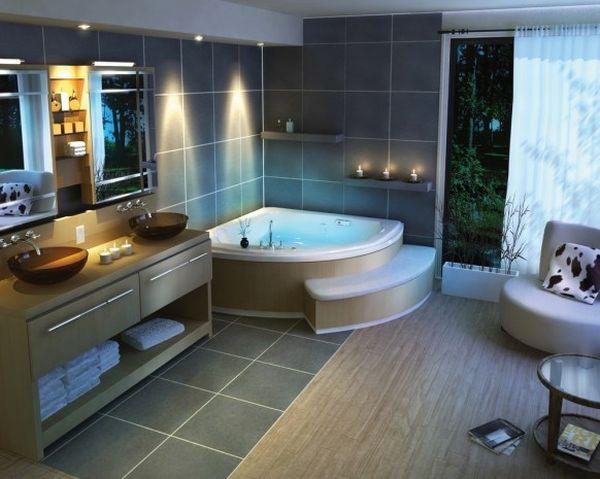 Contemporary bathroom designs hometone home automation for Home automation shower