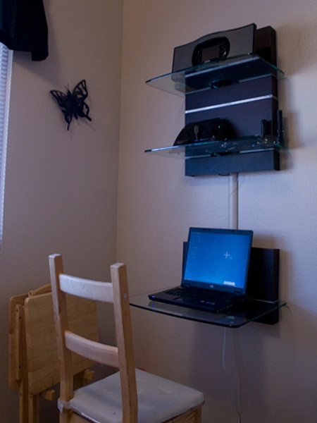 Wall Mounted Desk Hometone Home Automation And Smart