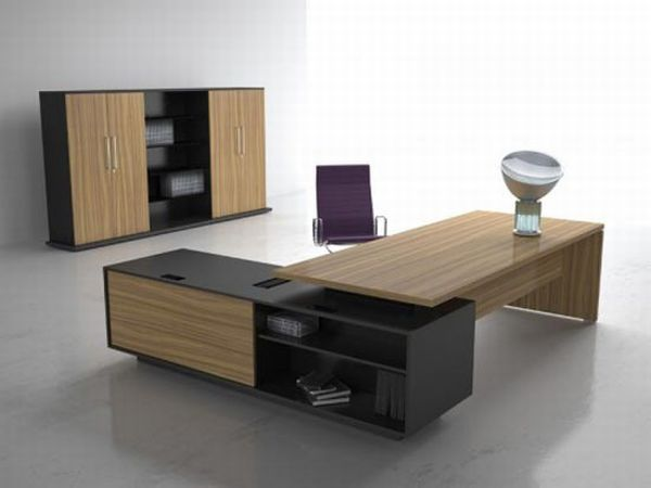 Modular Home Office Furniture Made Of Oak