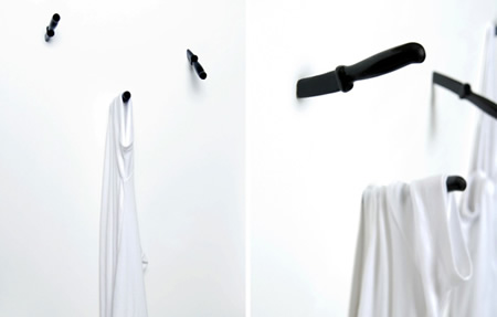 Most unusual and interesting wall hook designs hometone for Cool wall hook ideas
