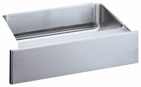Elkay ELUHFS2816 Gourmet Undermount Single Bowl Stainless Steel Kitchen Sink