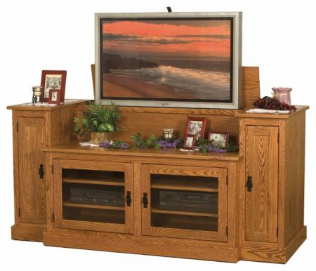 Oak Tv Stands Give Your Home Décor A Past Touch The Natural Wood Color Visibly Distinct Grains And Solid Construction Make Them Aesthetic