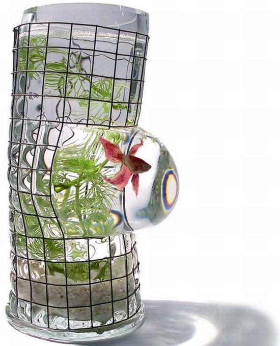 Unusual and creative fish tanks hometone for Creative fish tanks