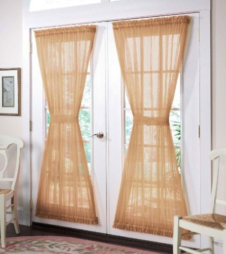 French door curtains 7 most stylish hometone home for Fenetre dos windows 8